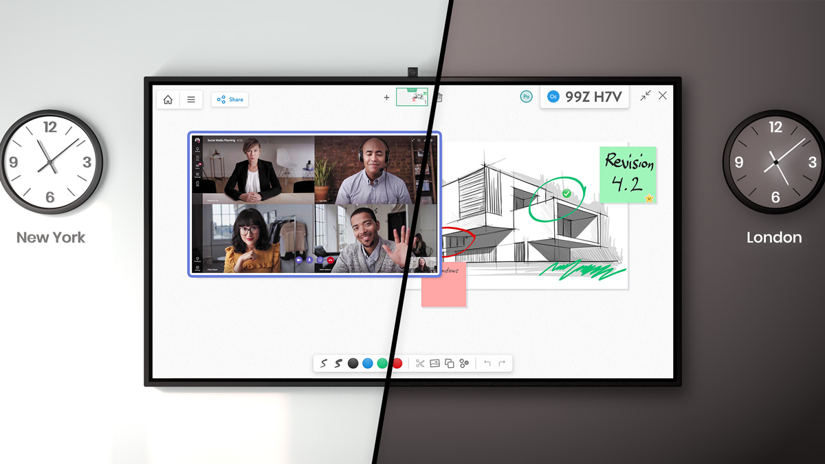 Dell Collaboration With Free Online Whiteboard