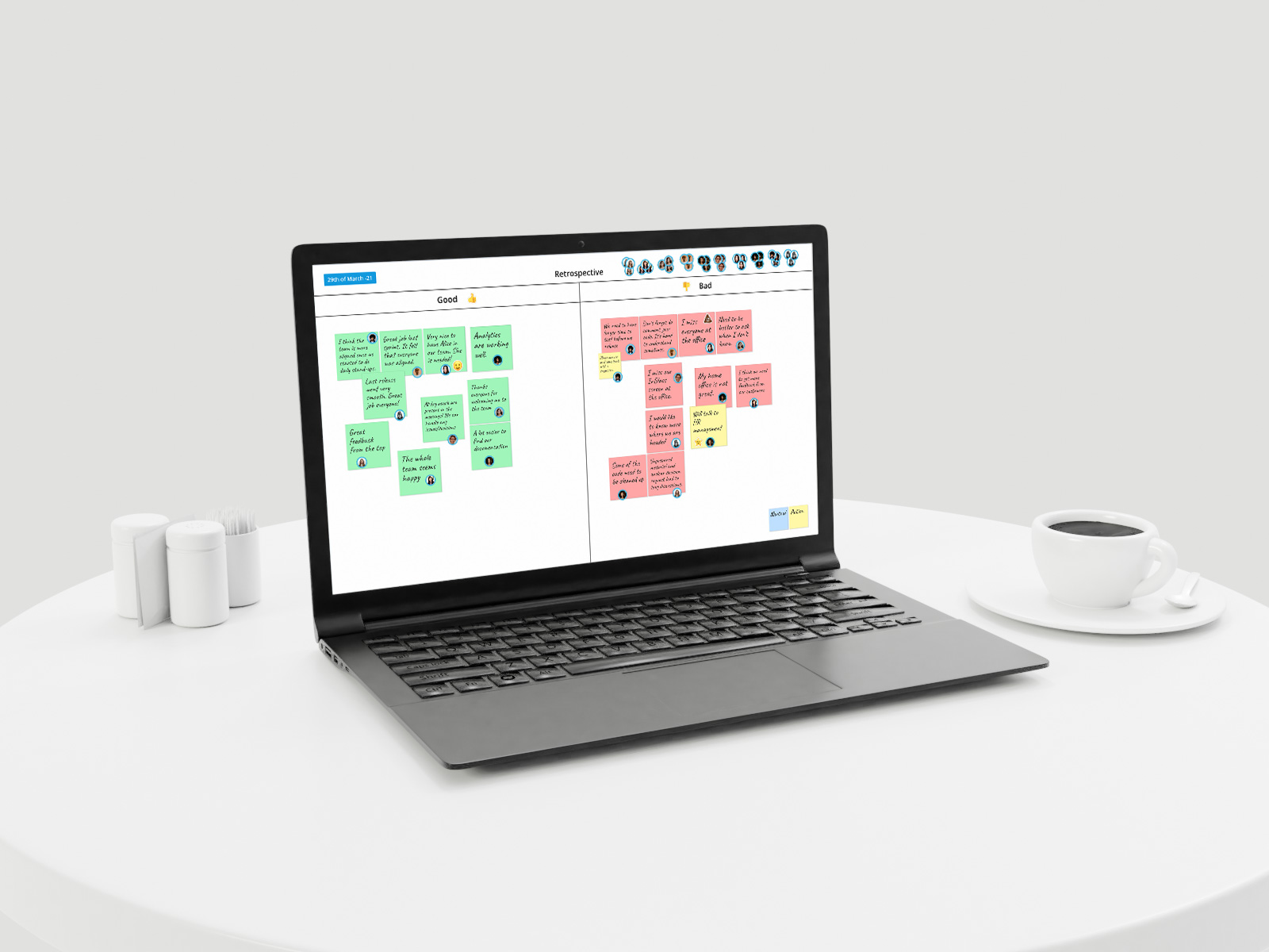 Collaborate at home with FlatFrog Software