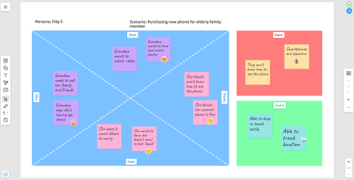 Use Digital Whiteboard To Ideate, Review, Track, And More