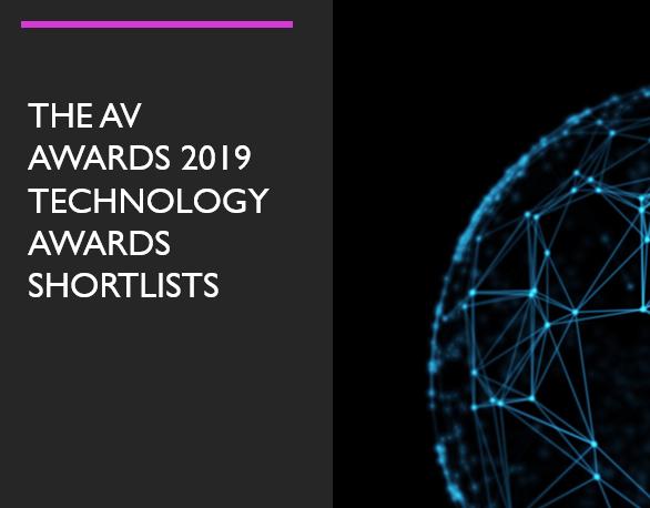 The AV 2019 Technology Awards Include Two InGlass Partners