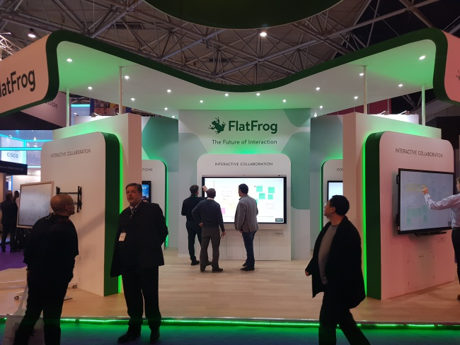 ISE 2019: More InGlass™ Displays than ever before!