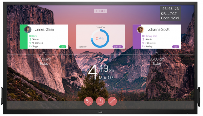 Kickle - Is Dell Touch Monitor a Surface Hub Alternative?
