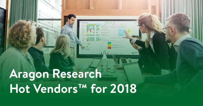 FlatFrog Named a 2018 Hot Vendor by Aragon Research