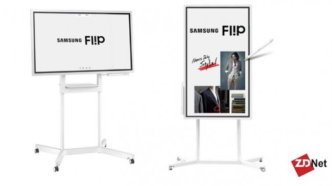 ZDNet: Samsung Flip - Collaboration Display with a Twist