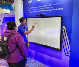 BETT 2020:  Classrooms of the Future with InGlass Touch from Dell
