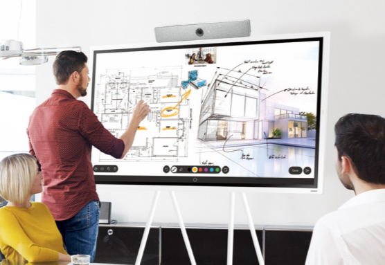 Cisco's Webex and Samsung Flip Powered by InGlass™ Technology