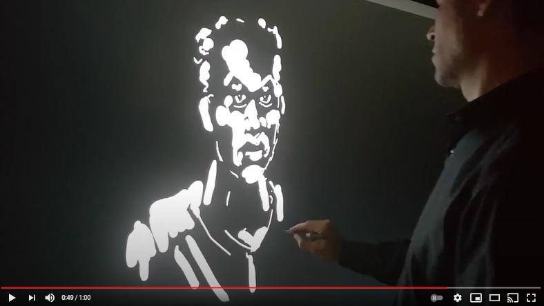 Video: InGlass Technology Pen-on-Paper Using an Active Pen