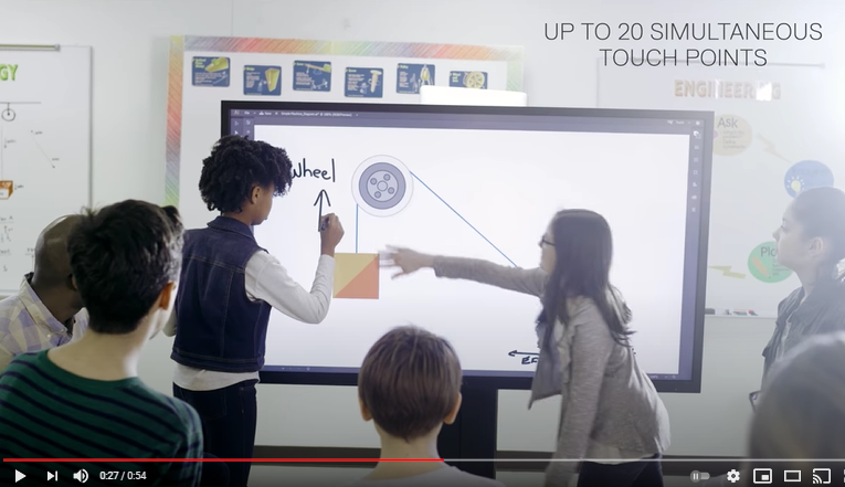 Video: Dell Large Format InGlass Monitors
