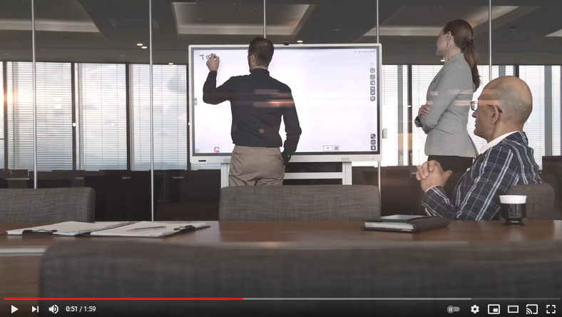 Video: RICOH Collaboration Board With InGlass Technology