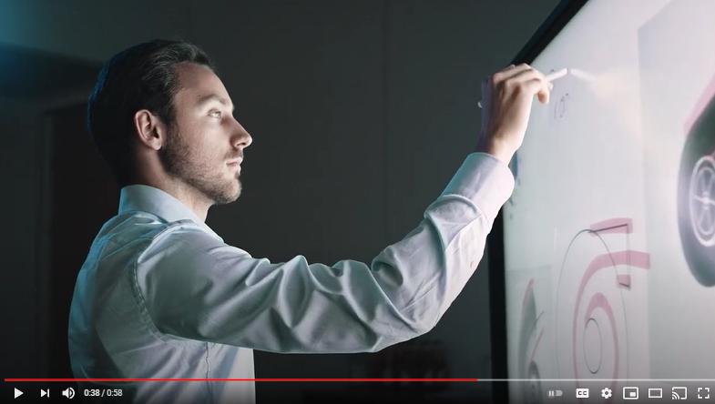 Video: NEC InfinityBoard