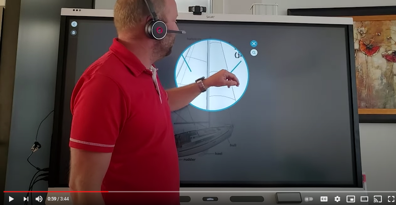 Video: SMART Board 6000S With InGlass Technology