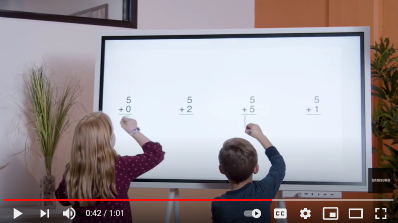 Video: Samsung Flip with InGlass Technology in Education