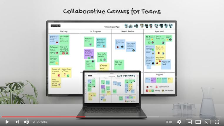FlatFrog Board for hybrid teams working in the office or remotely