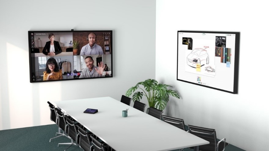 Dual Displays in the Meeting Room