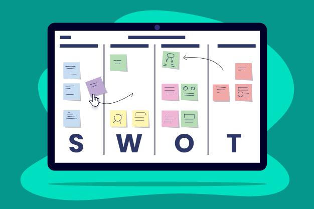 SWOT Analysis Using an Online Whiteboard