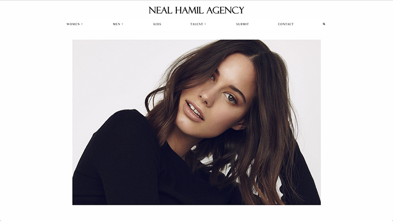 Neal Hamil Model Agency