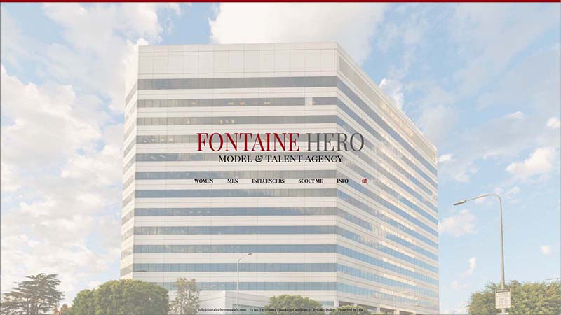 Fontaine Heroes Model and Talent Agency