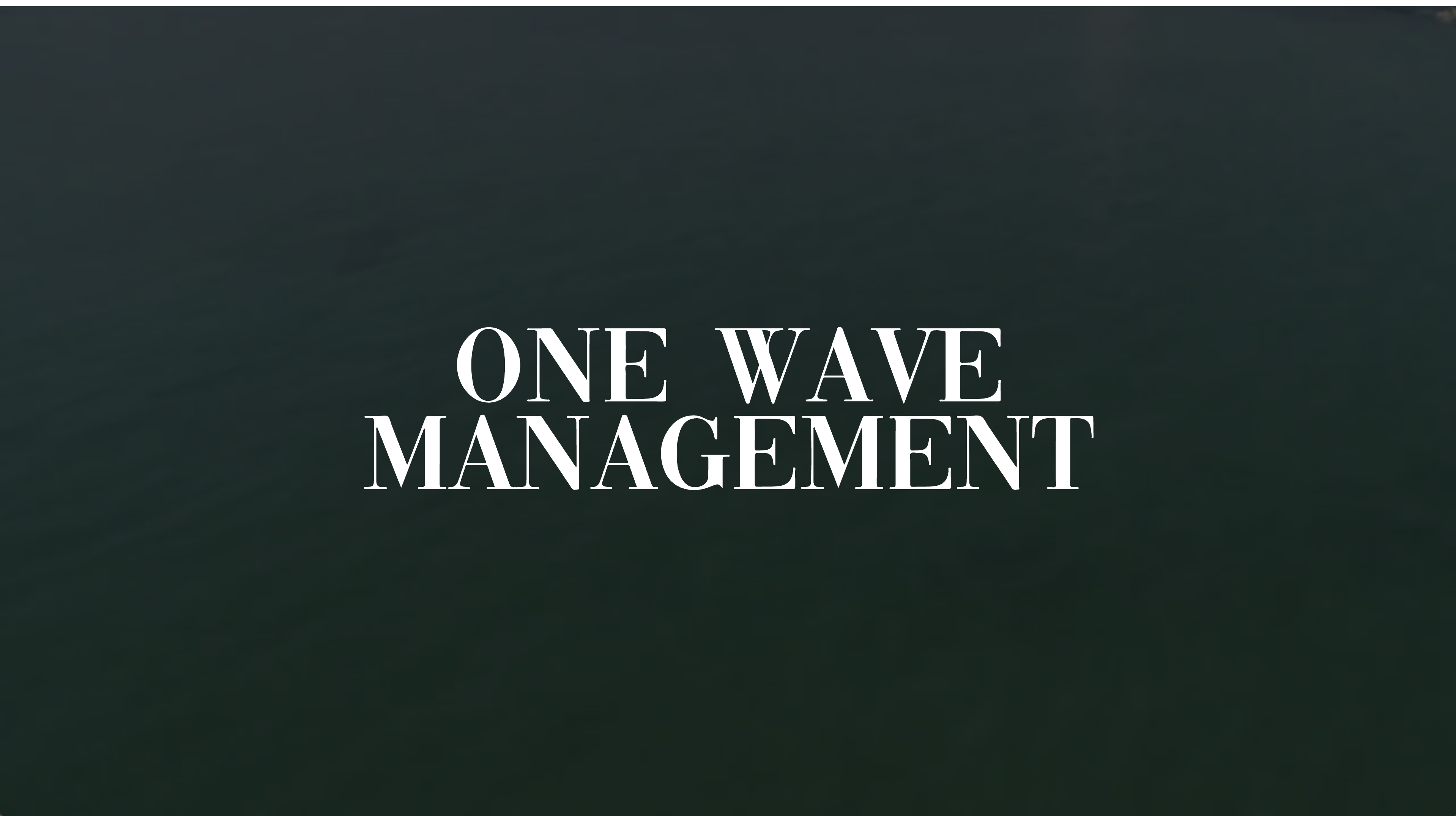 One Wave Management