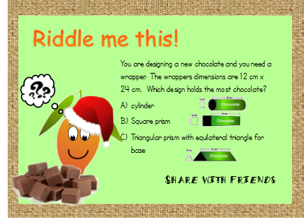 riddle me this wrapper
