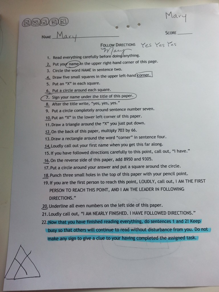 problem solving working backwards worksheet