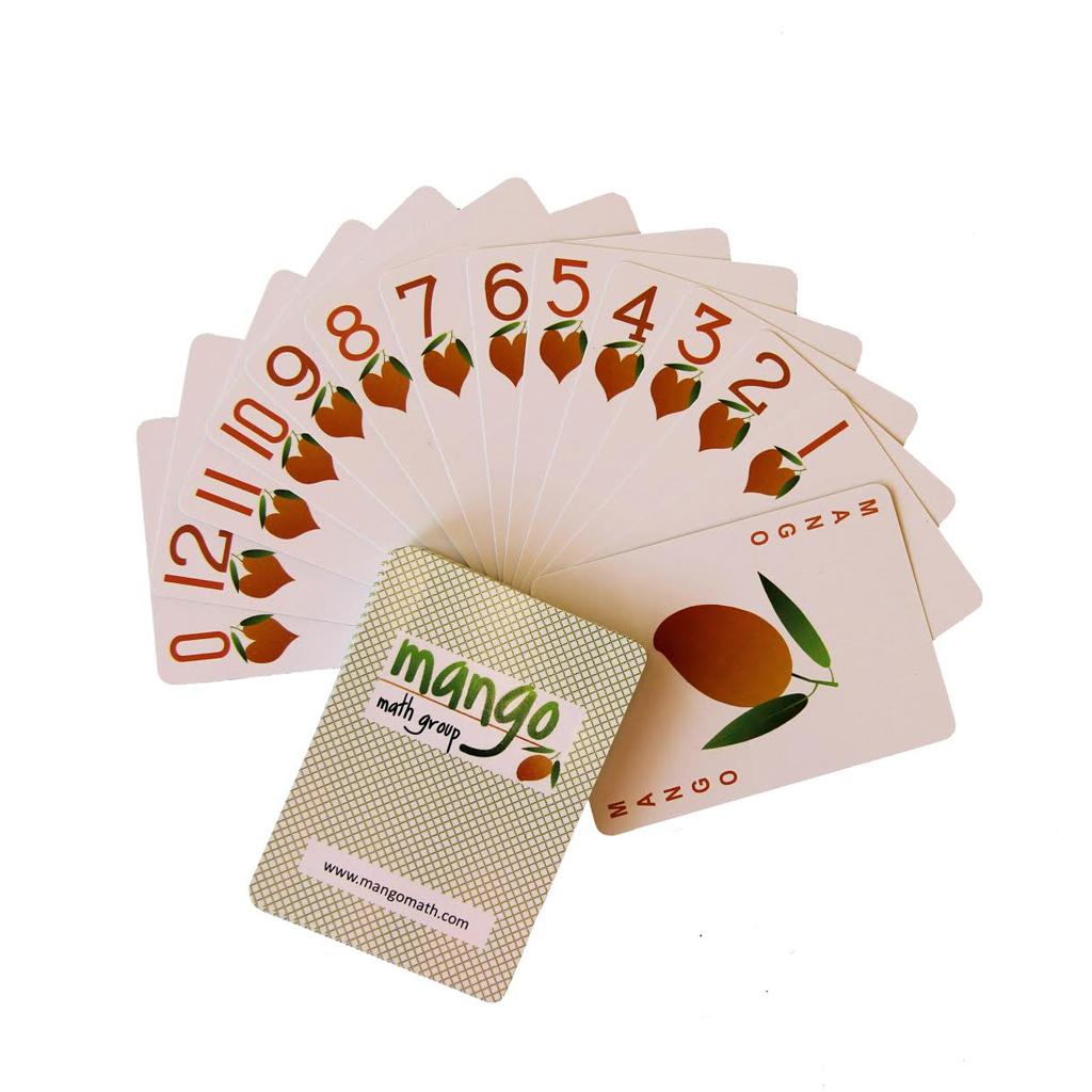 MANGO Math Playing Cards