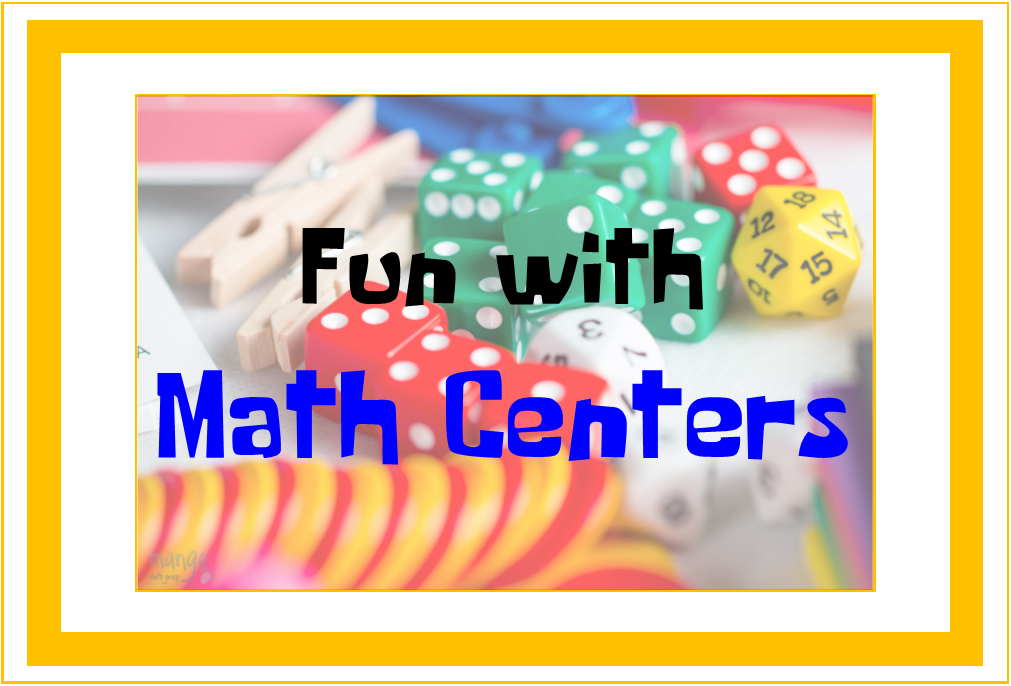 Math Centers: Getting Them Started