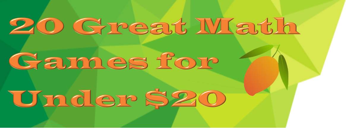 20 Math Gifts for under $20 fun way to reinforce math