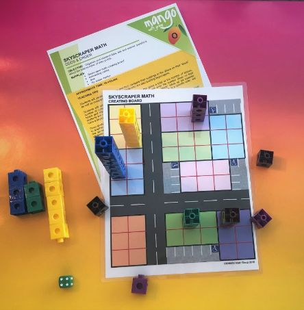 Skyscraper Math - 1st Grade Kit - Bar graphs
