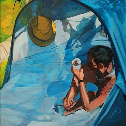 """Kunstwerk """"BBW Monet"""" von Max Diel"""