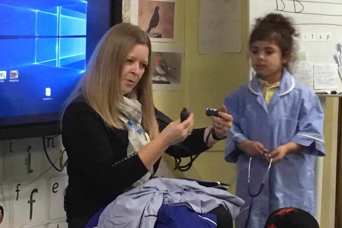 School Nurse Visits Early Years