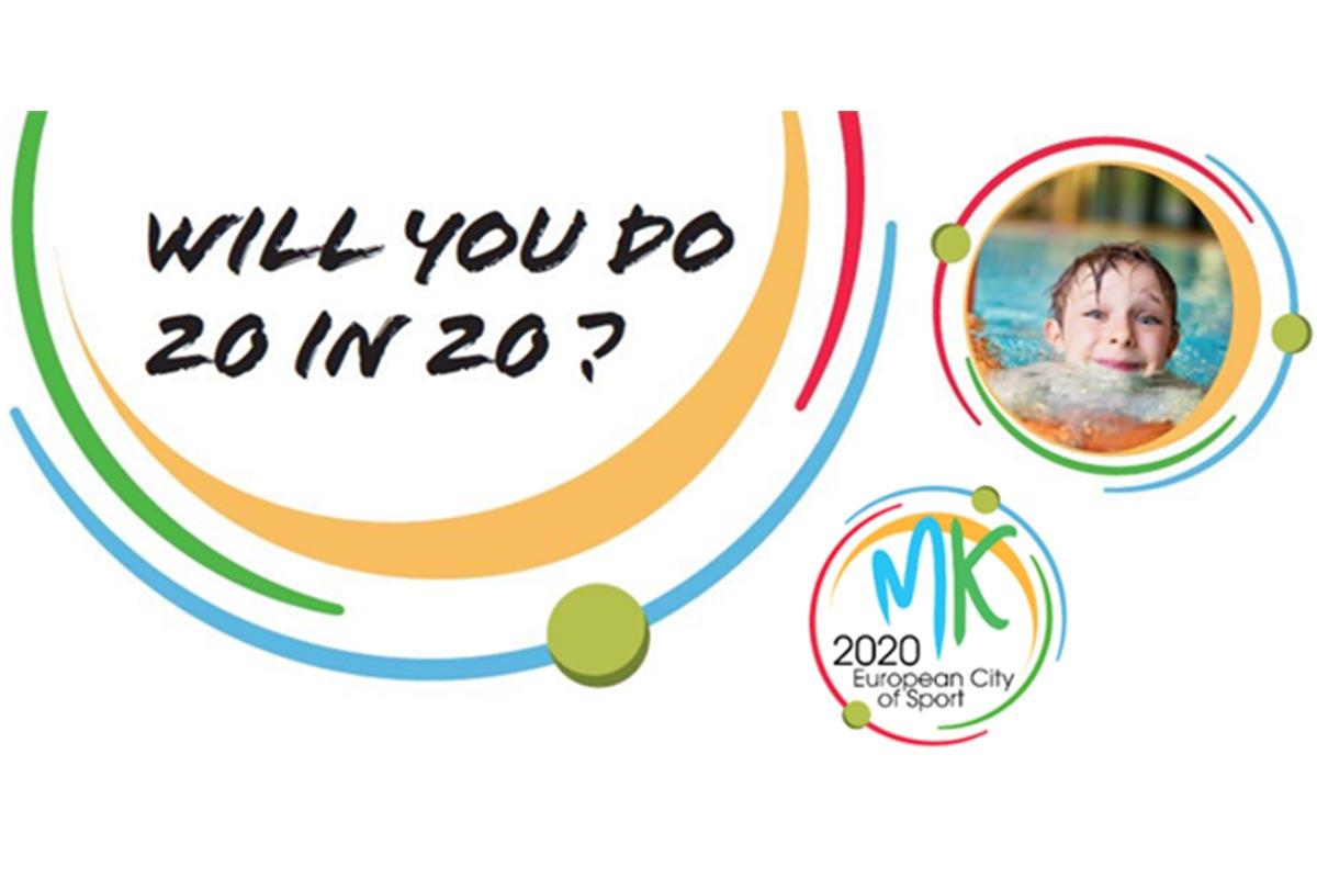MK Schools Sporting Challenge#20in20