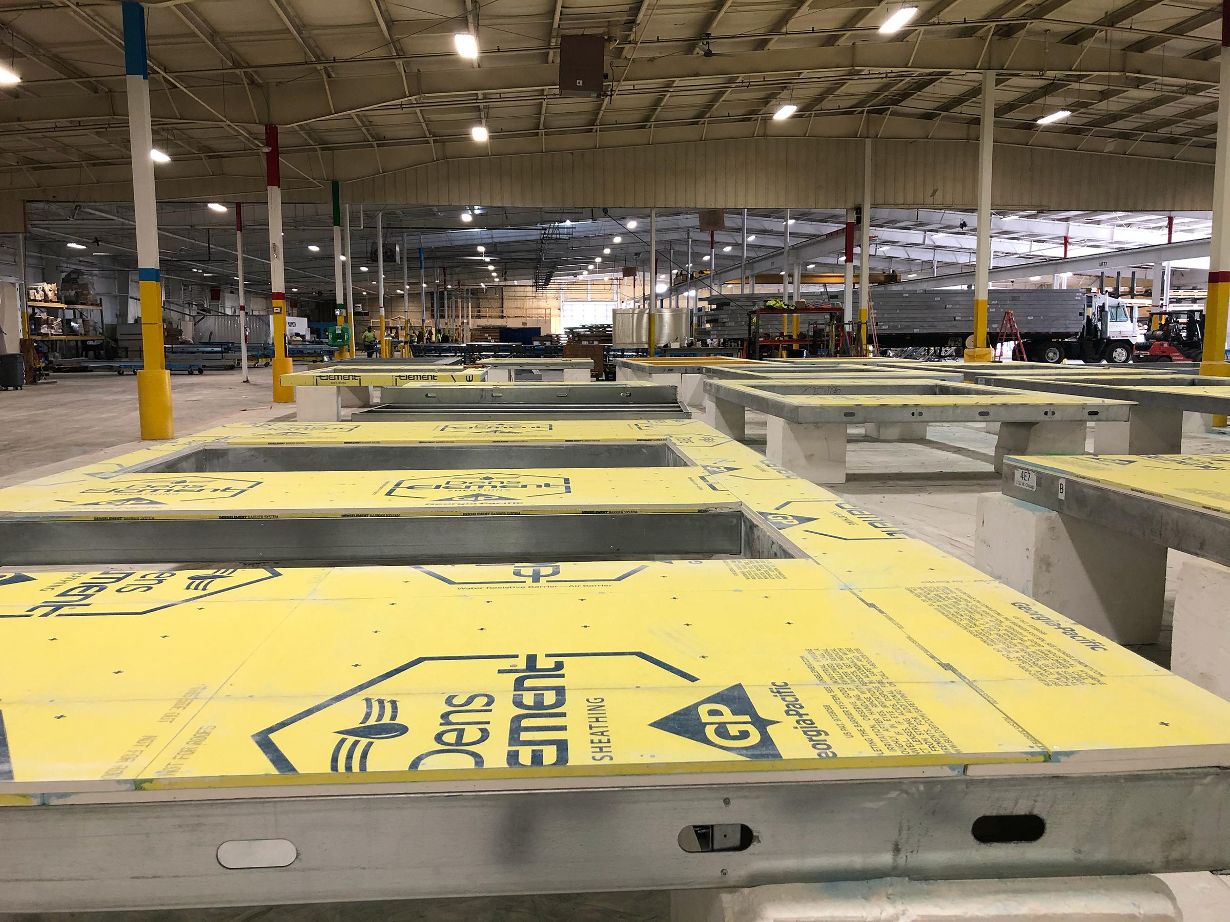 Mammoth Prefab Manufacturing Facility