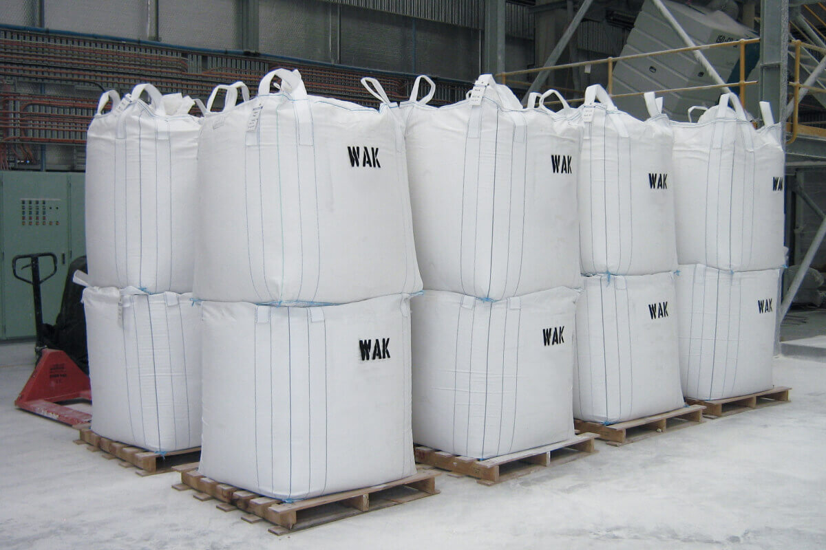 Bagged Product ready for shipment
