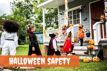 Halloween Safety Tips - Children trick-or-treating