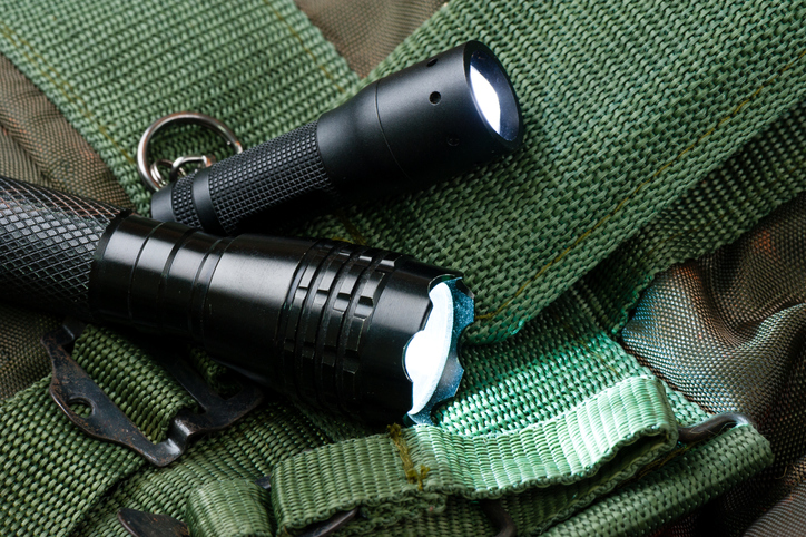 LED flashlights for camping