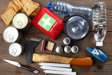 Hurricane Emergency Kit - Photo