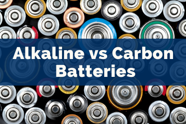 Alkaline batteries vs ordinary carbon batteries