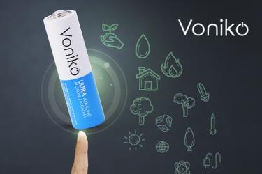 Voniko ULTRA Alkaline AA Bulk Batteries