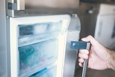 Storing Voniko ULTRA Alkaline bulk D batteries in the refrigerator