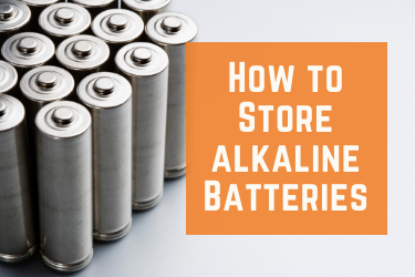 How to Store Alkaline Batteries photo