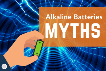 Illustration of Alkaline Battery Myths - Voniko Batteries