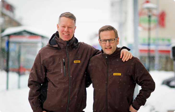 Mikael Puhakka & Lars Johansson Gårdsmark
