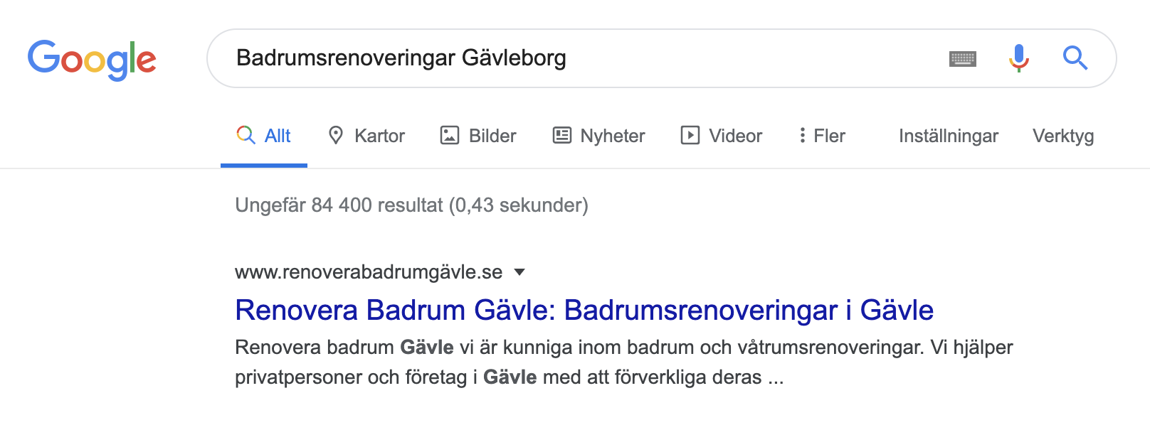 Google Renovera Badrum Gävle