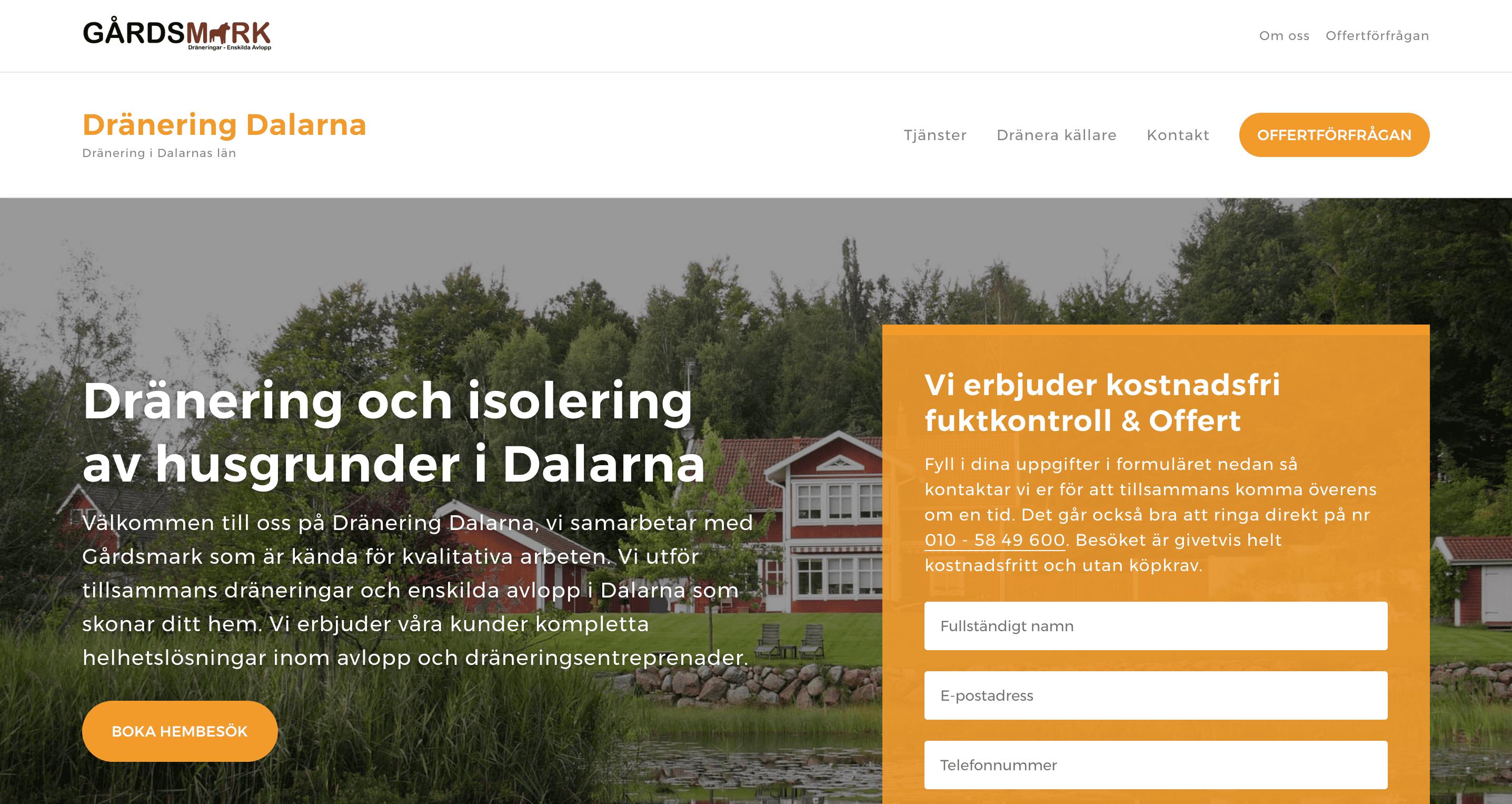 Dränering Dalarna