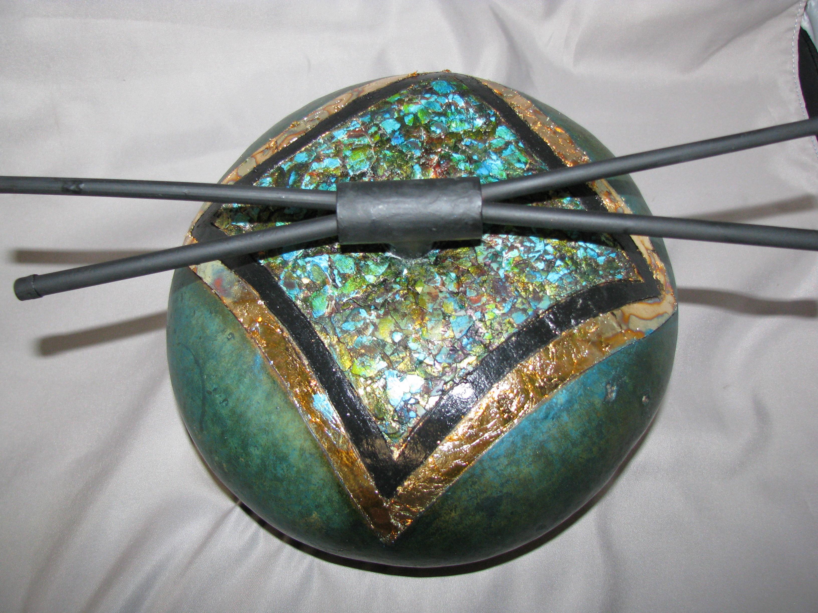 Asian Inspired Gourd Globe