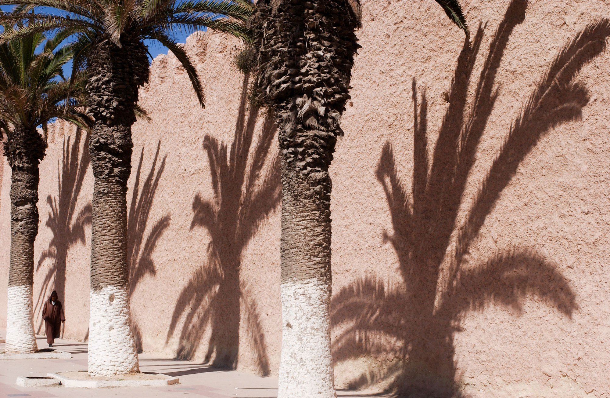 maroc ombres ocre ville