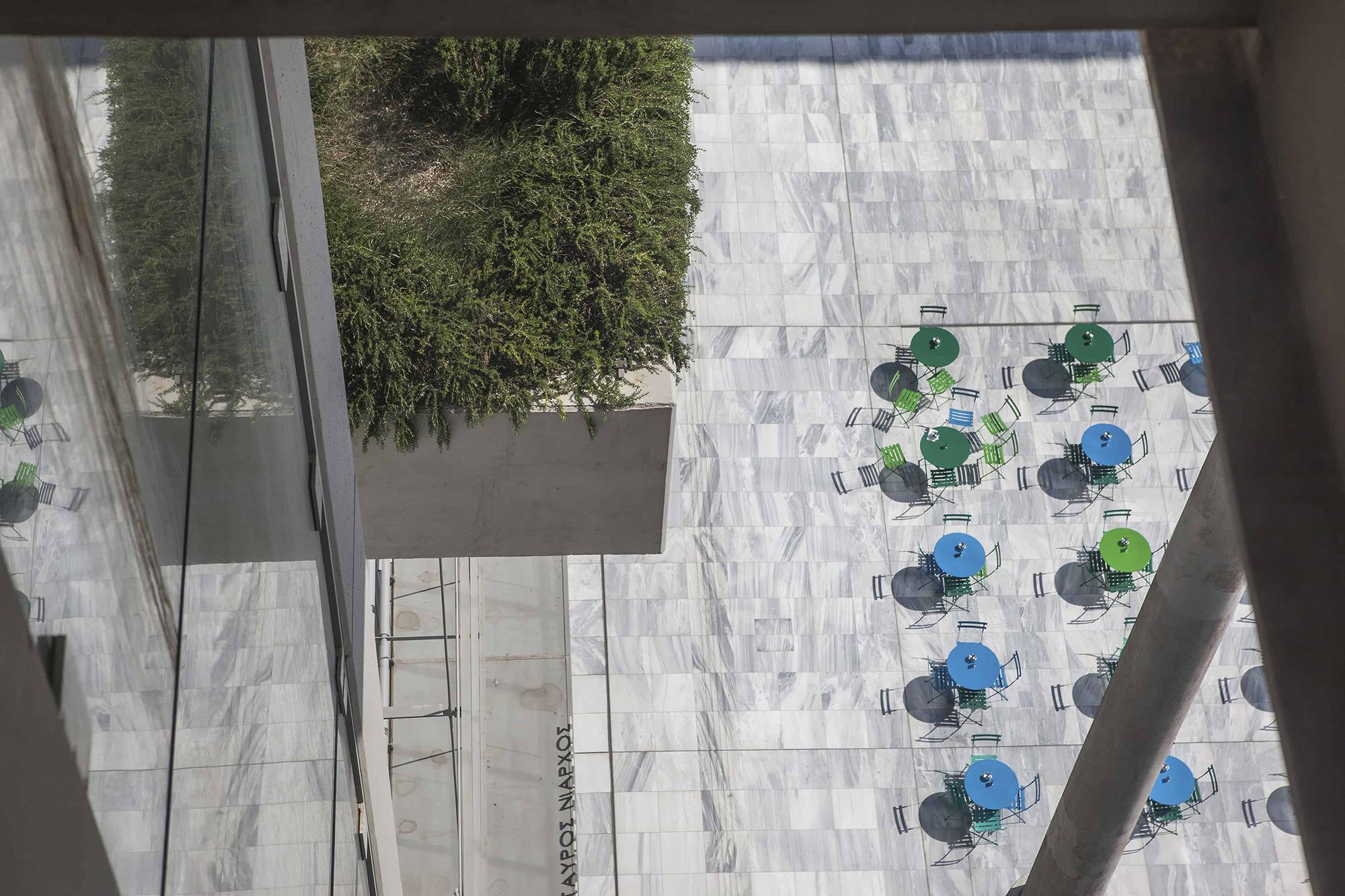 Fondation Stavros Niarchos plongée Athènes