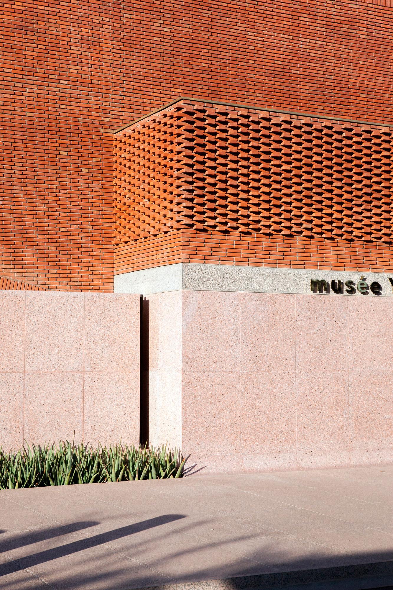 Musée Yves St Laurent Maroc soleil levant