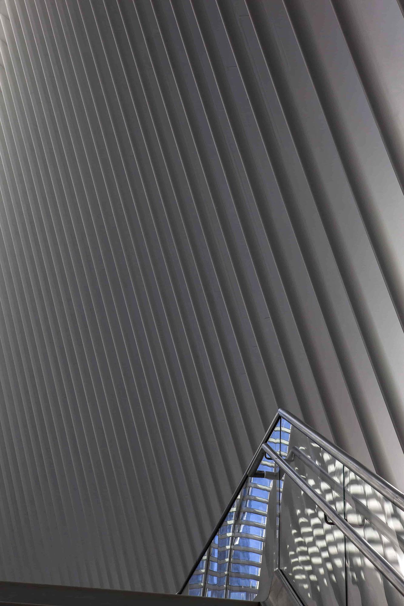 Cortlandt Street Station architecture Santiago Calatrava