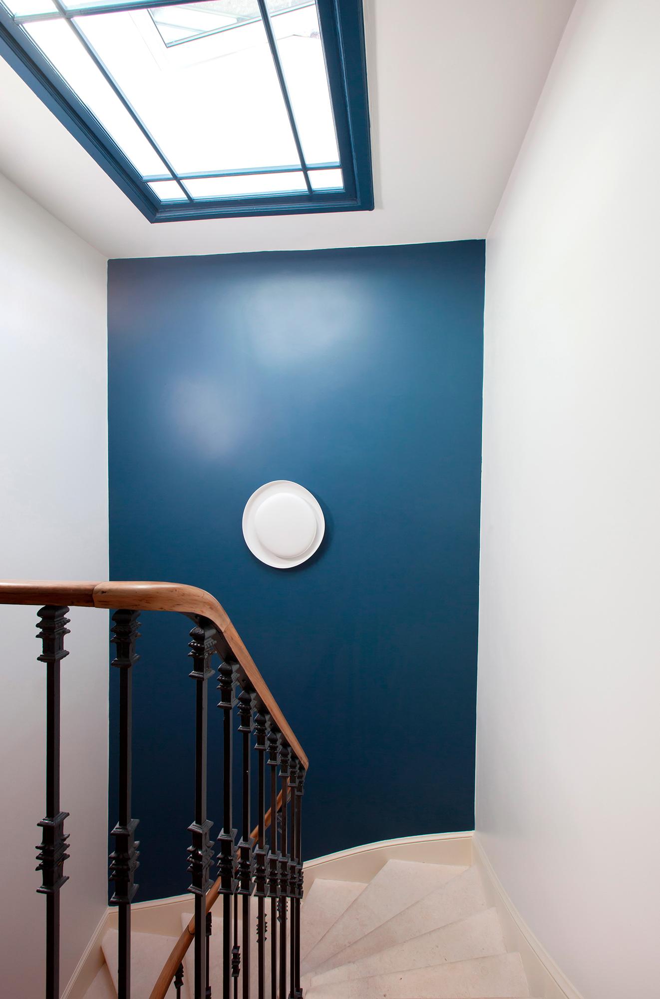 inérieur escalier peinture décoration